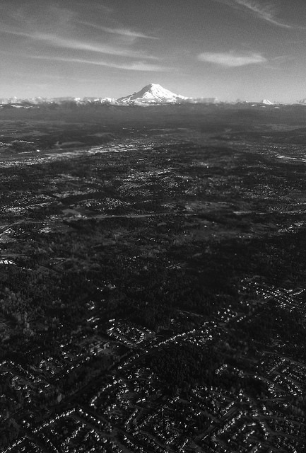 Mt. Ranier  on Flickr.