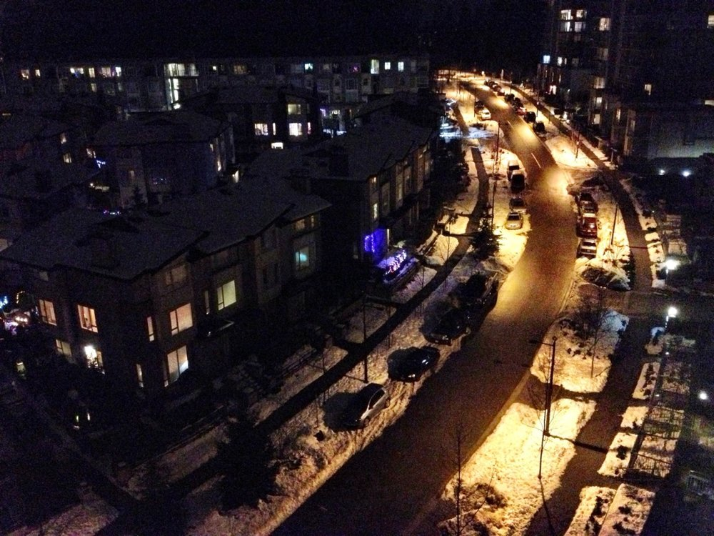 Snowy! – View on  Path .