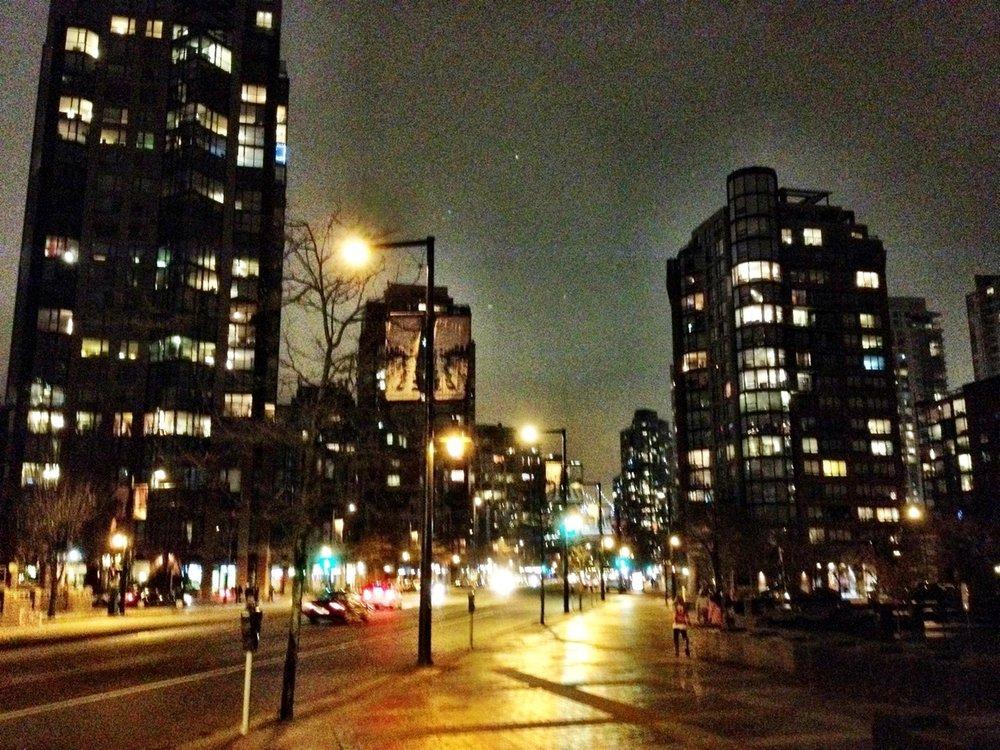 at David Lam Park – View on  Path .
