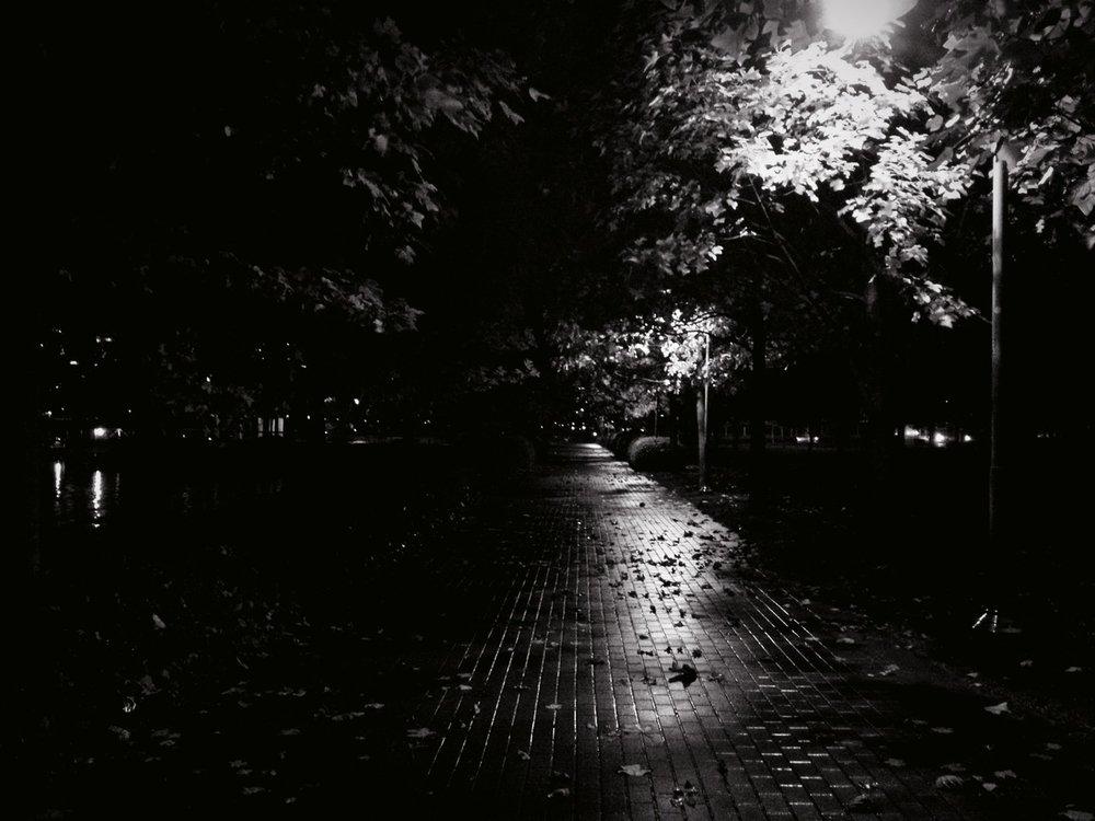 Creepy. at David Lam Park – View on  Path .