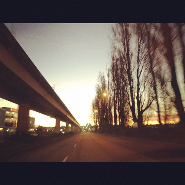 Heading towards the dawn. (Taken with  instagram )