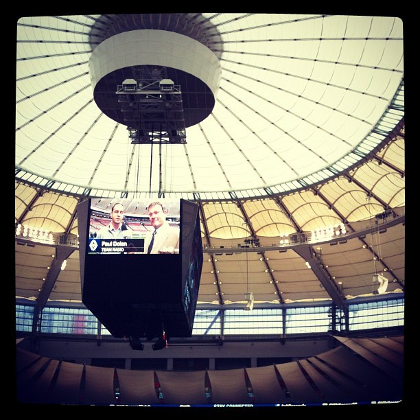 Last game of the season! (Taken with  Instagram  at BC Place)