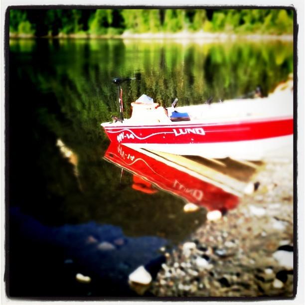 Fresh fish! (Taken with  Instagram  at Jones Lake Reservoir)