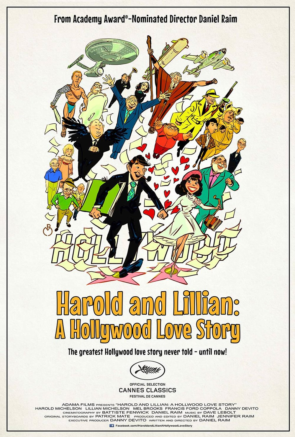 """Harold and Lillian: A Hollywood Love Story (2015), dir. by Daniel Raim"