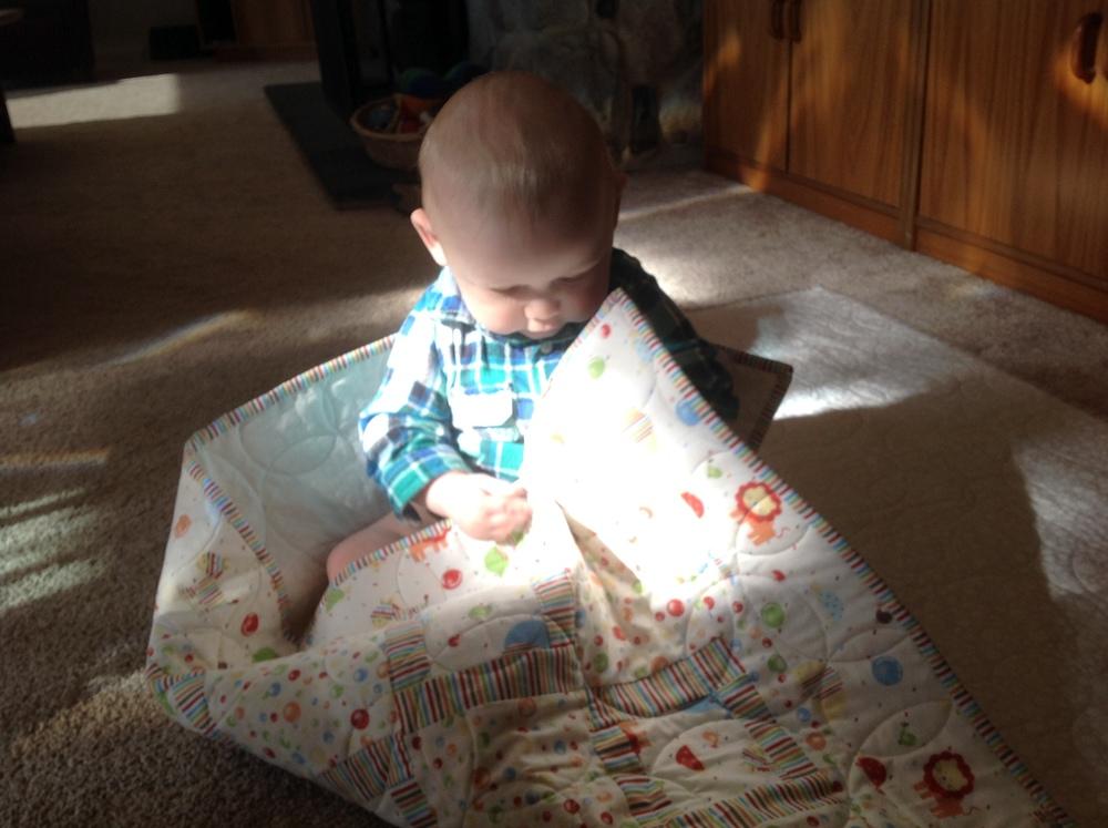 My little helper!