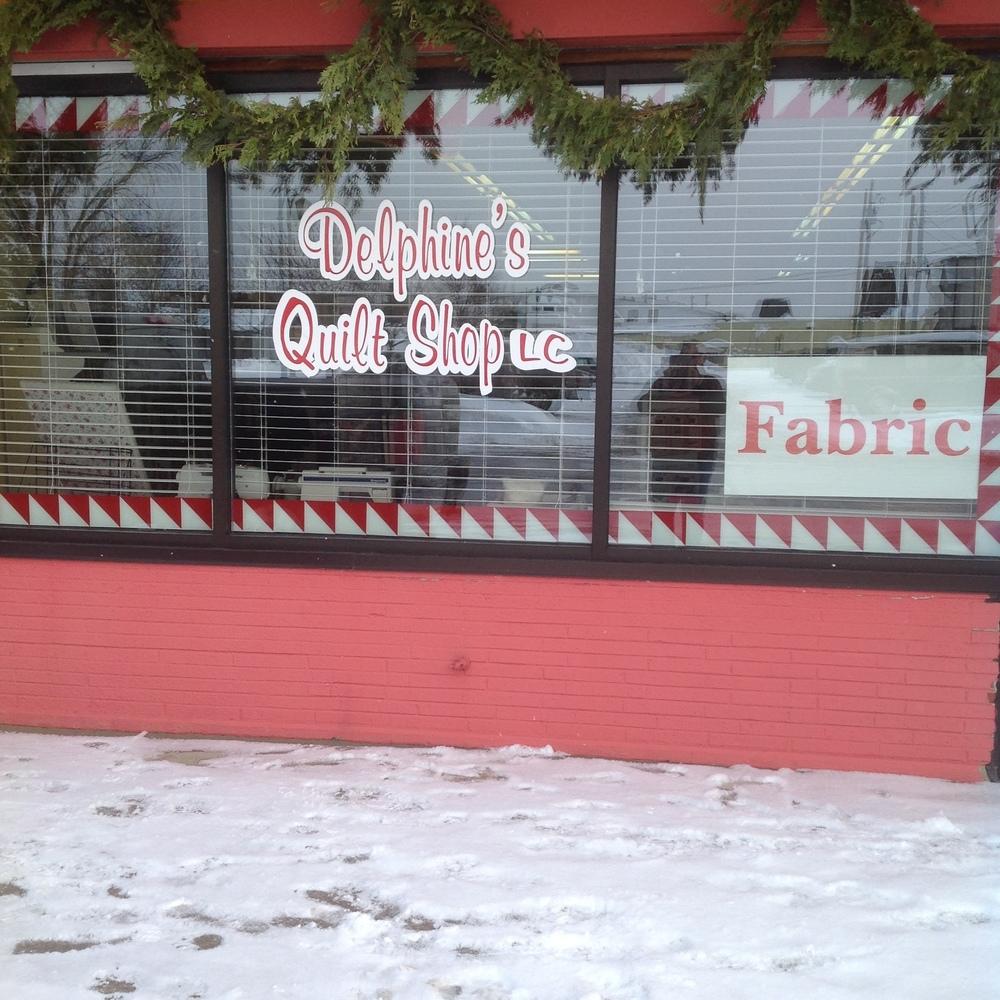 Delphine's shop front.