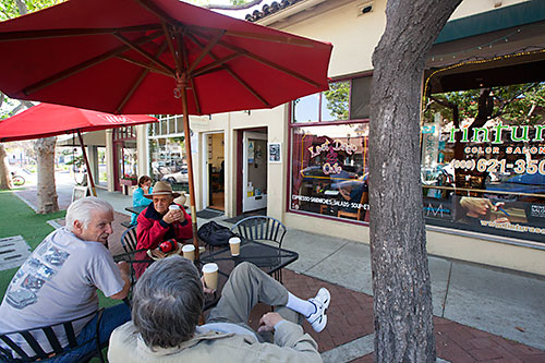 The Last Drop Cafe - We serve muffins, cookies, and croissants from The Last Drop Cafe, located in the Claremont village. This local coffeehouse is particularly appealing to us for its delicious vegan and gluten-free options for our patrons with dietary restrictions.