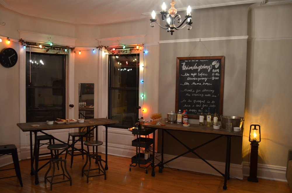Love Without Agenda's house is ready for Friendsgiving
