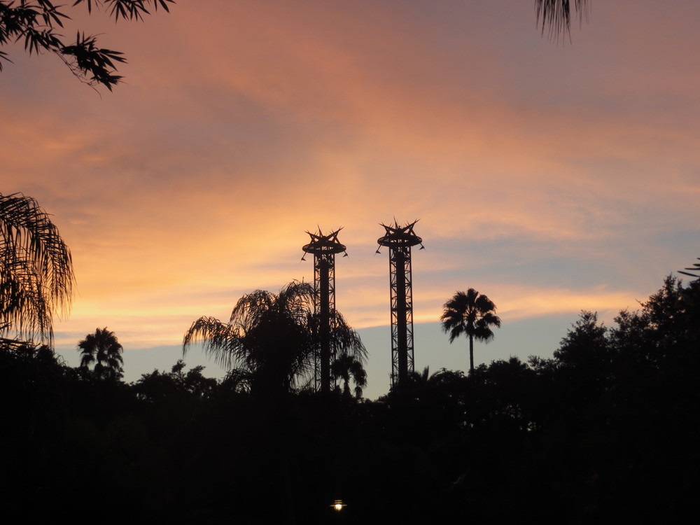 Atardecer en Universal Studios Florida