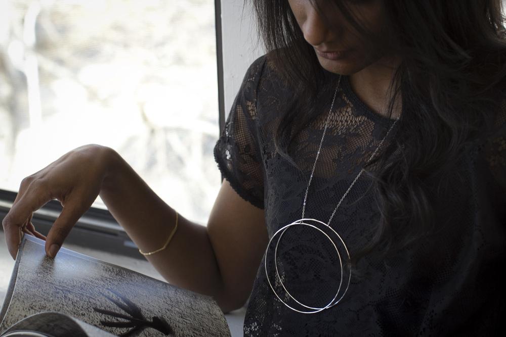 Thru-Hoop necklace