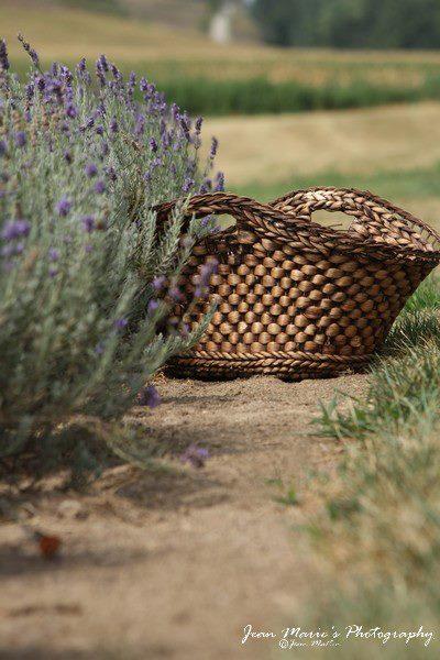 Jean Marie Lavender + basket