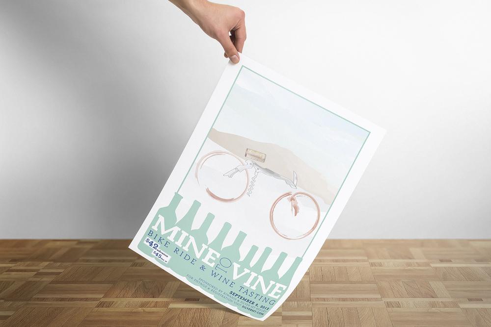 Mine to Vine Poster 2012