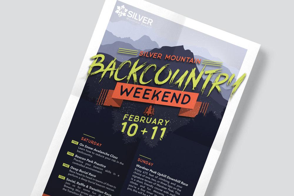 Silver Mountain Poster Design