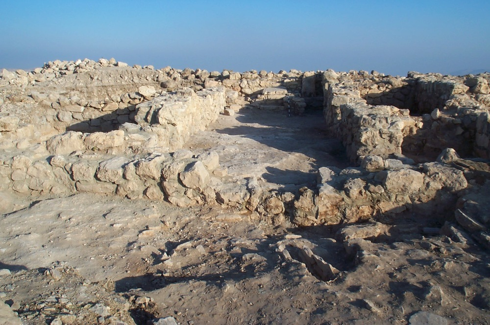 Main Sanctuary Room of the Ataruz Temple (9th Century BCE; Photo by C. Ji)
