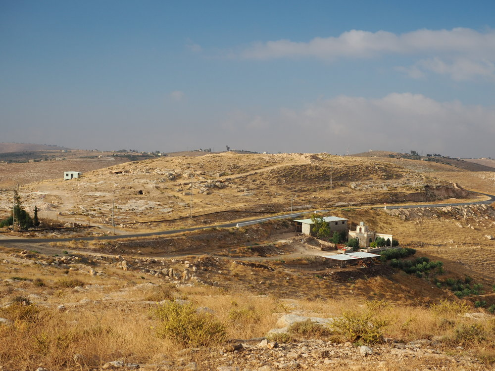 Khirbat Ataruz, View from the North (Photo by C. Ji)
