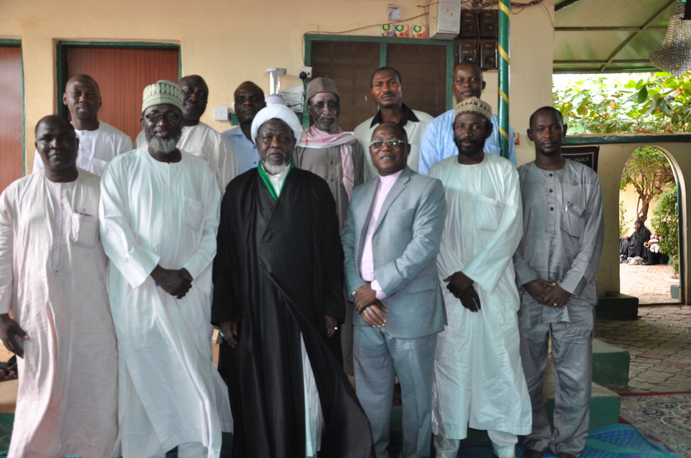 IMC at a Condolence Visit to Sheikh Al Zakzaky in Zaria on the death of his son