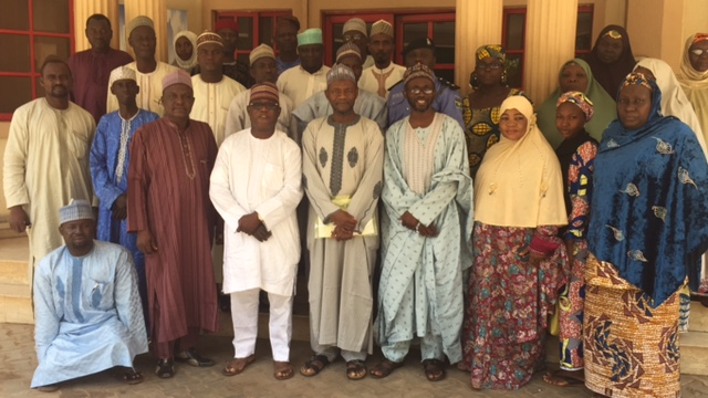 Group photograph with participants and IMC Officials at the CMMRC Restructuring in Sokoto