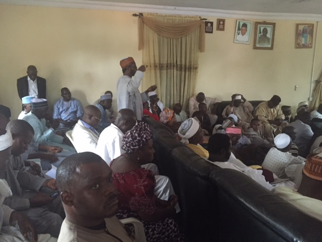 Cross Section of Participants during the meeting in Godogodo
