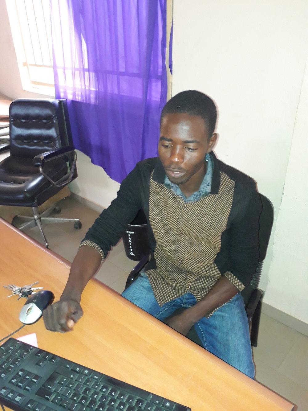 Okosis Dashe, Utility manager, IMC. Mobile number: 07062157774. Email: okosisidashe@gmail.com