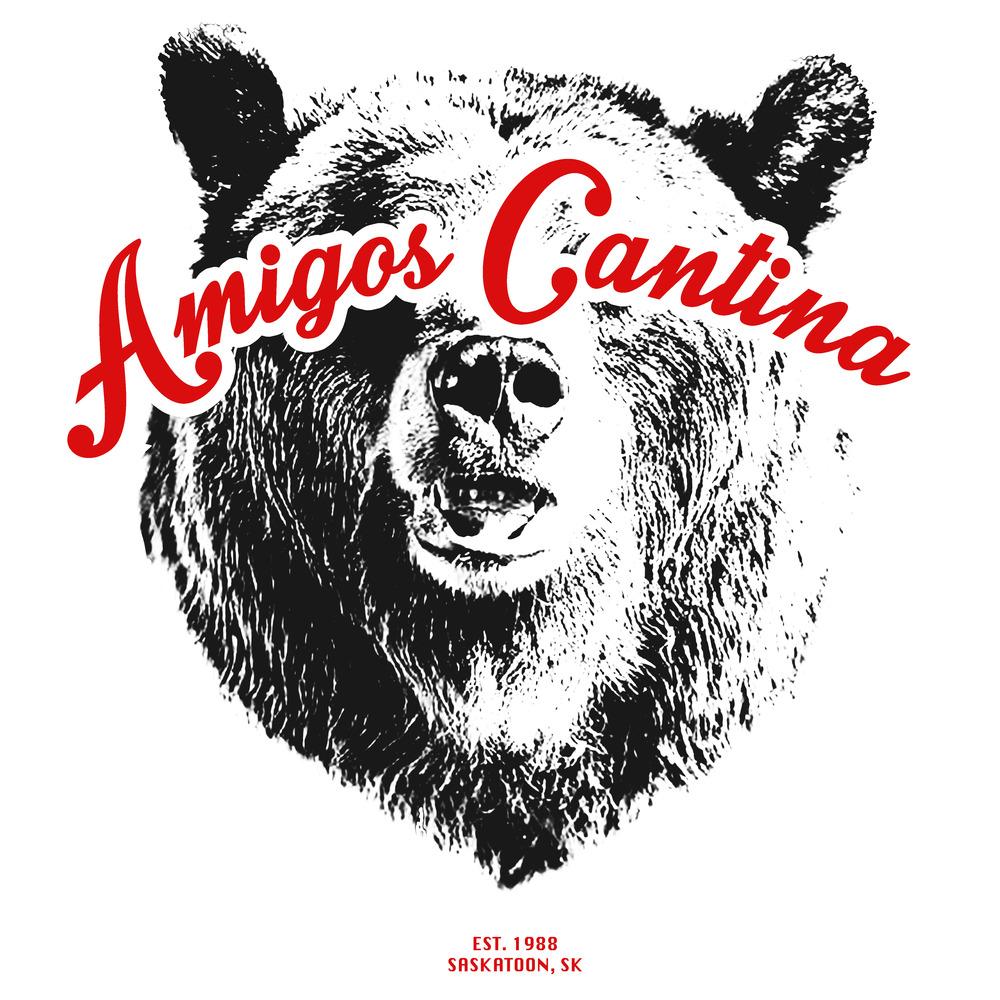 Shirt design for Amigos Cantina. 2014
