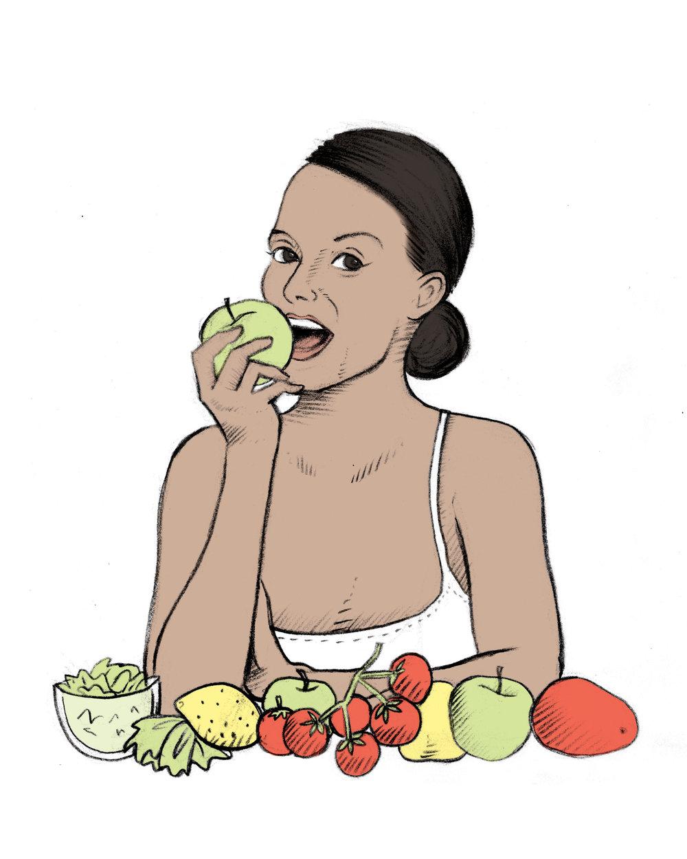 FASD_AWARENESS_ILLUSTRATIONS-WOMAN_EATING_HEALTHY.jpg
