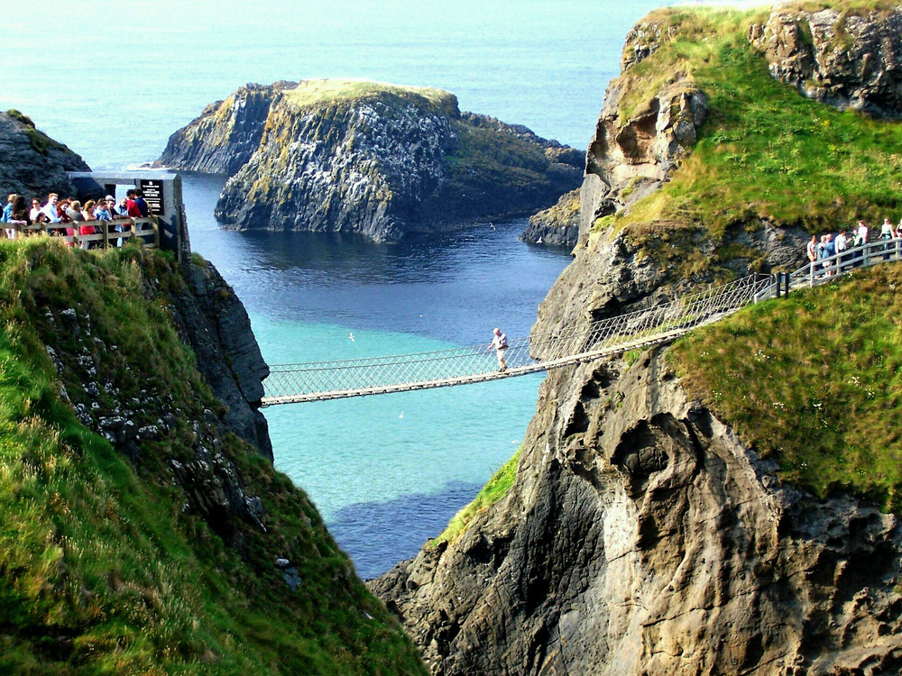 Carrick-a-Rede Rope Bridge - Antrim, N. Ireland