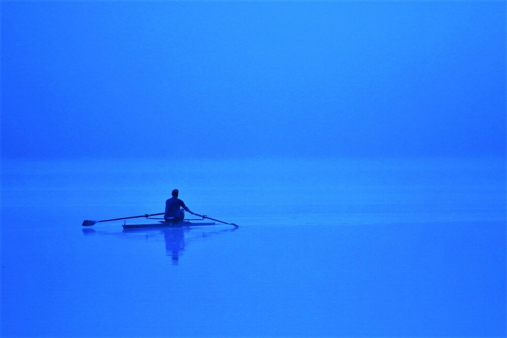 Motivation in Blue (Tungsten) - Rockland Lake, NY