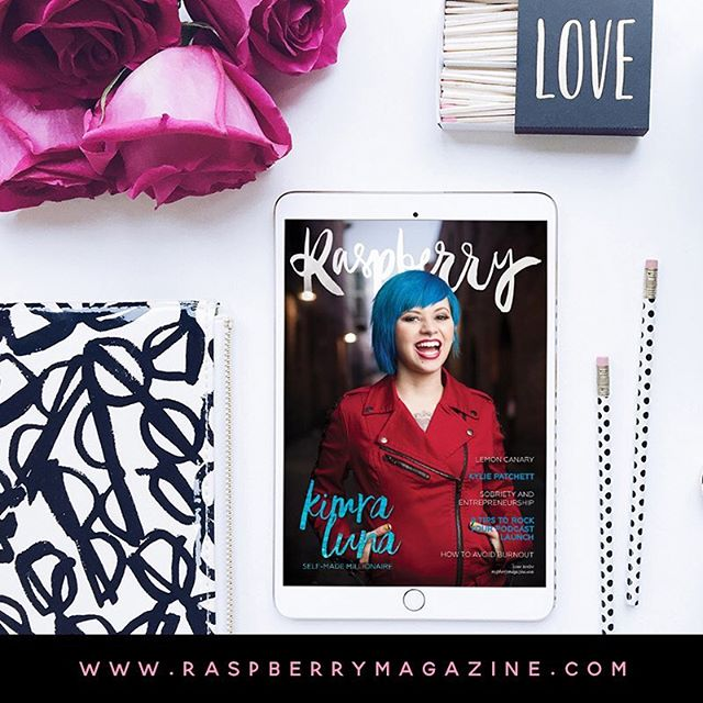 LAUNCH ✨ issue 12 is out! Featuring the incredible @kimraluna on the cover, plus @lemoncanary @alana.helbig @kyliepatchett @bexweller @helenpackham @emmawardcoach @nicole_mathieson and Lexi Koch 🙌🏼 Read free on the site now   follow the link here @raspberrymagazine