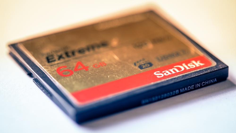 sandisk 64GB Extreme CF