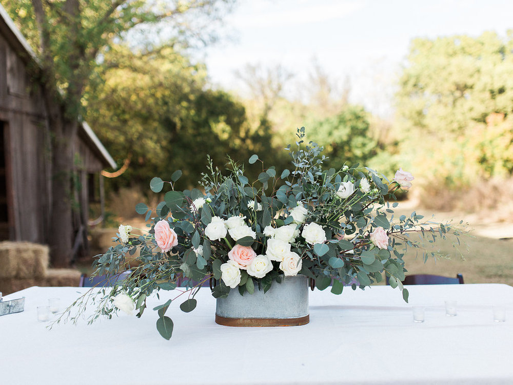 These rose and eucalyptus arrangements were beyond beautiful and smelled absolutely amazing!