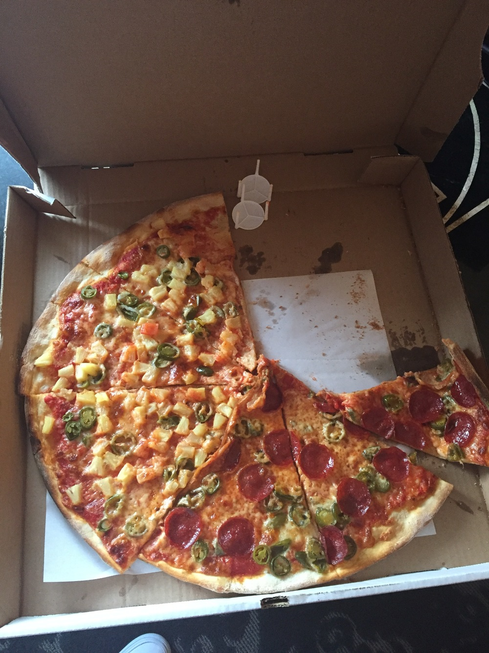 I <3 nyc pizza
