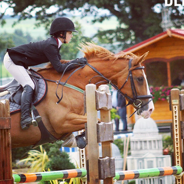 Jackie from California competes at CSI 3* Millstreet