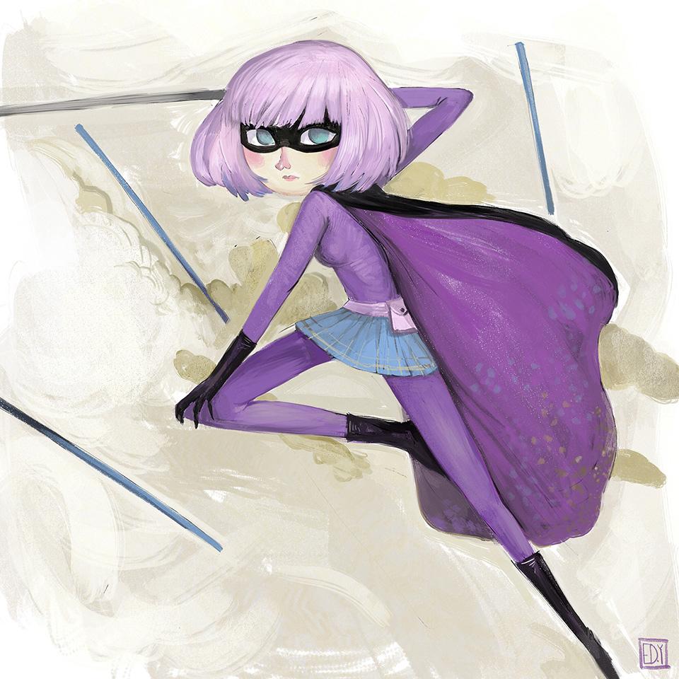 Marvel's Hitgirl : Sketchdailies