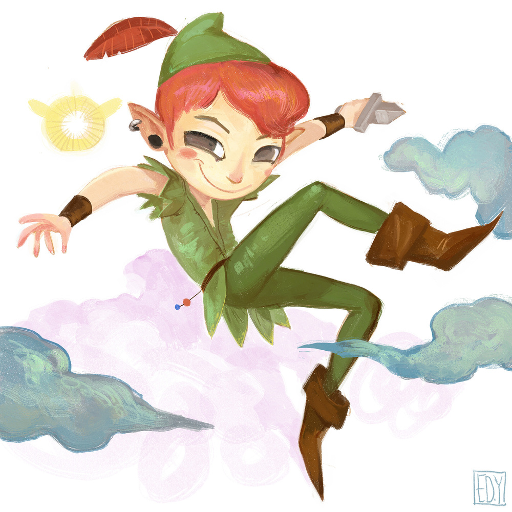Disney's Peter Pan : Sketchdailies