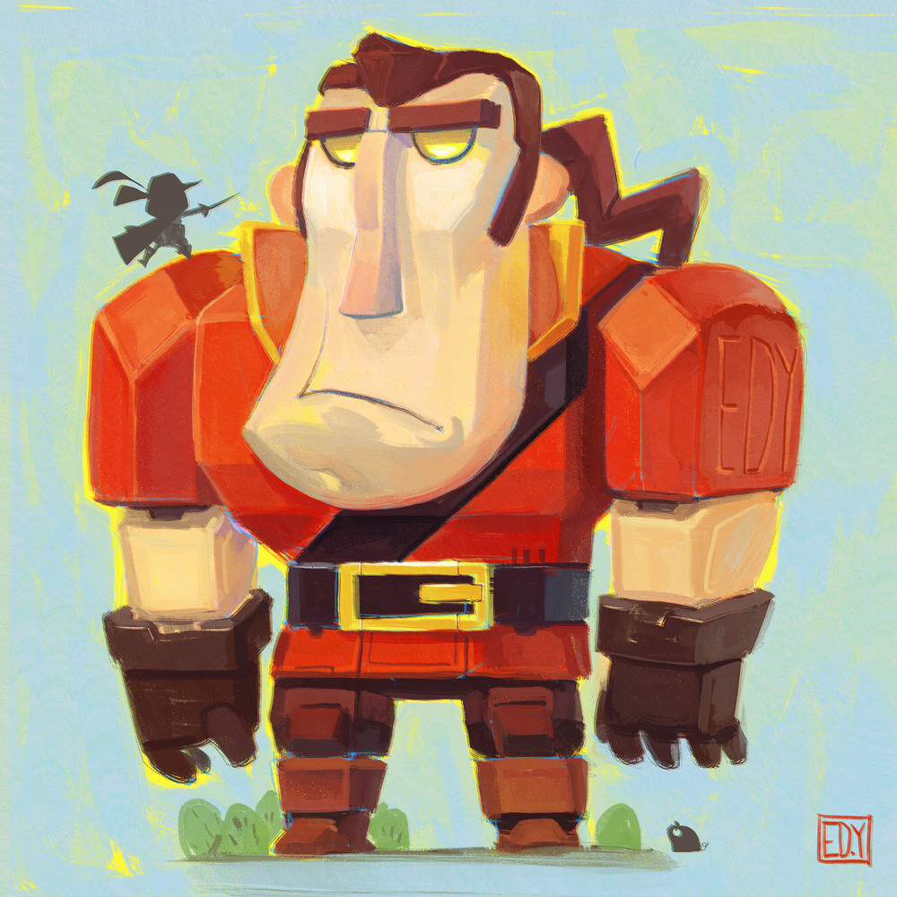 Gaston :  Sketchdailies