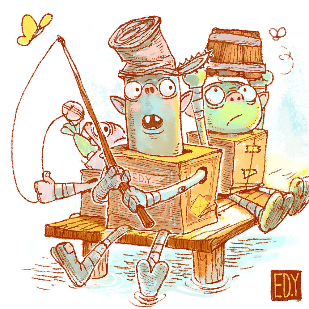 boxtrolls for sketchdailies.