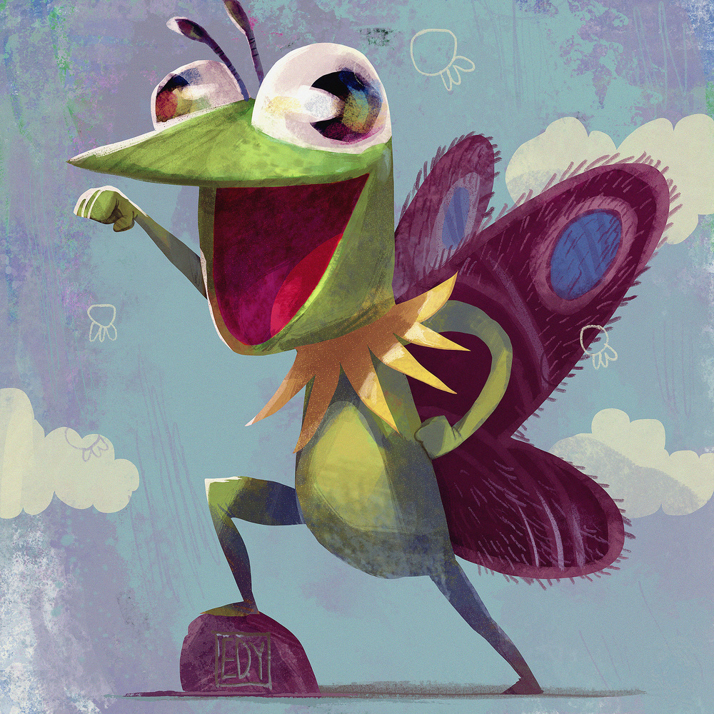 Kermit the Frog x Mothra