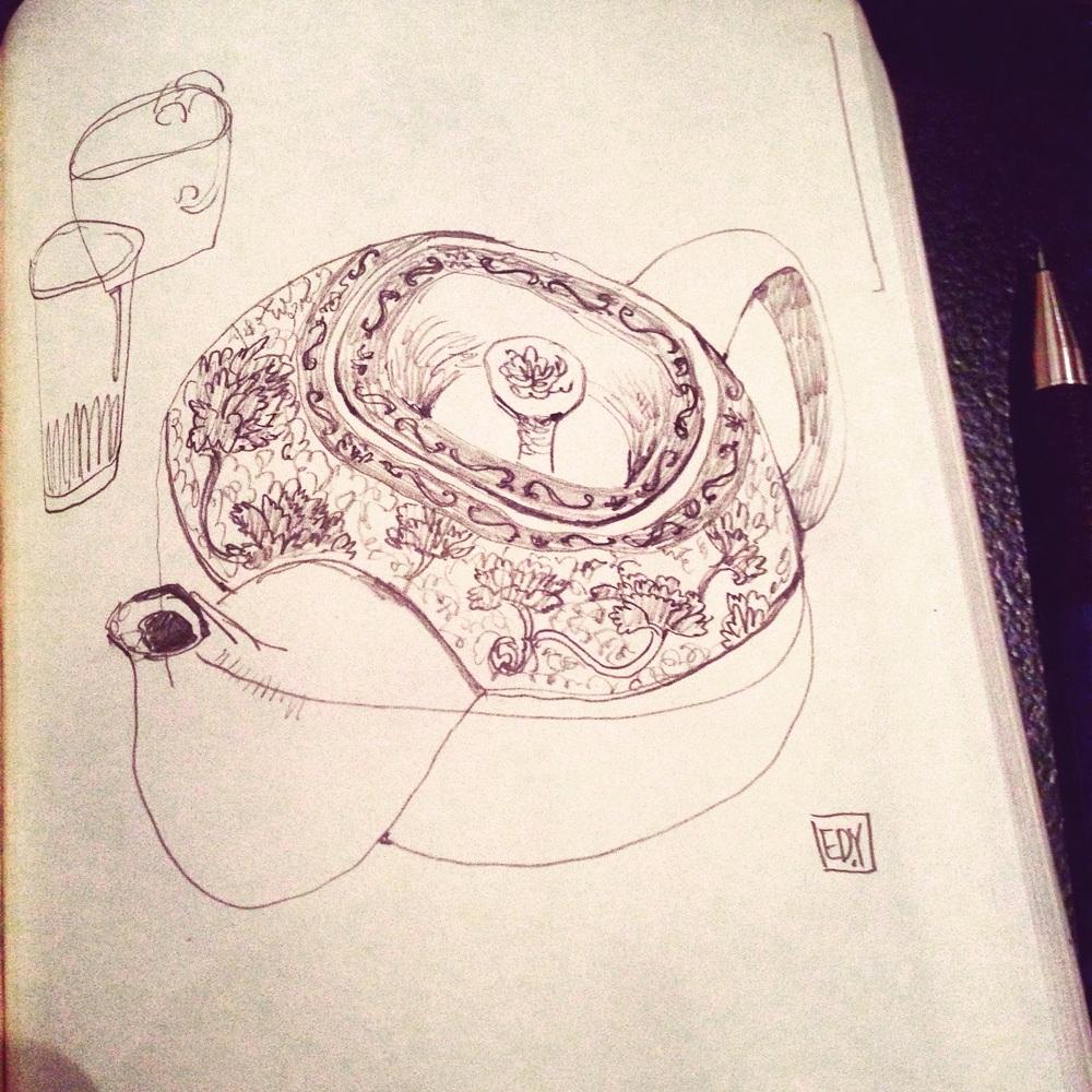 Robin's tea - white orchard tea