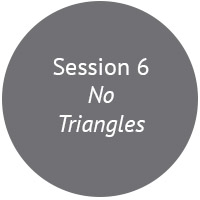 The effective practice of no triangles is the single most important way to create respect and performance that I've ever come across. We look at what it is, and how to apply it in your work environment.