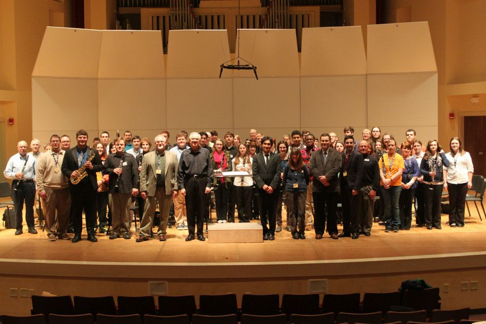 2013 Clarinet Day Group Photo!