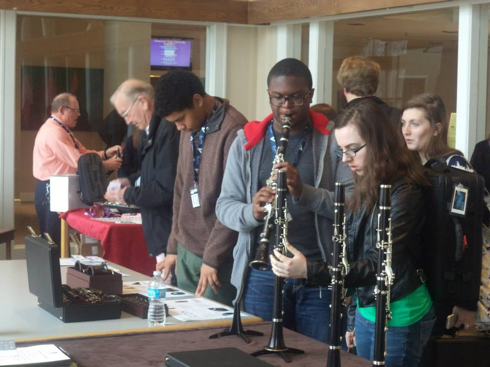 TTU Clarinet Day Exhibition Room