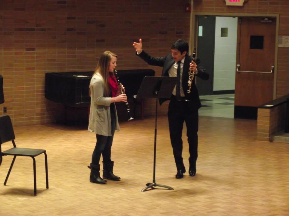 UE Clarinet Day Master Class