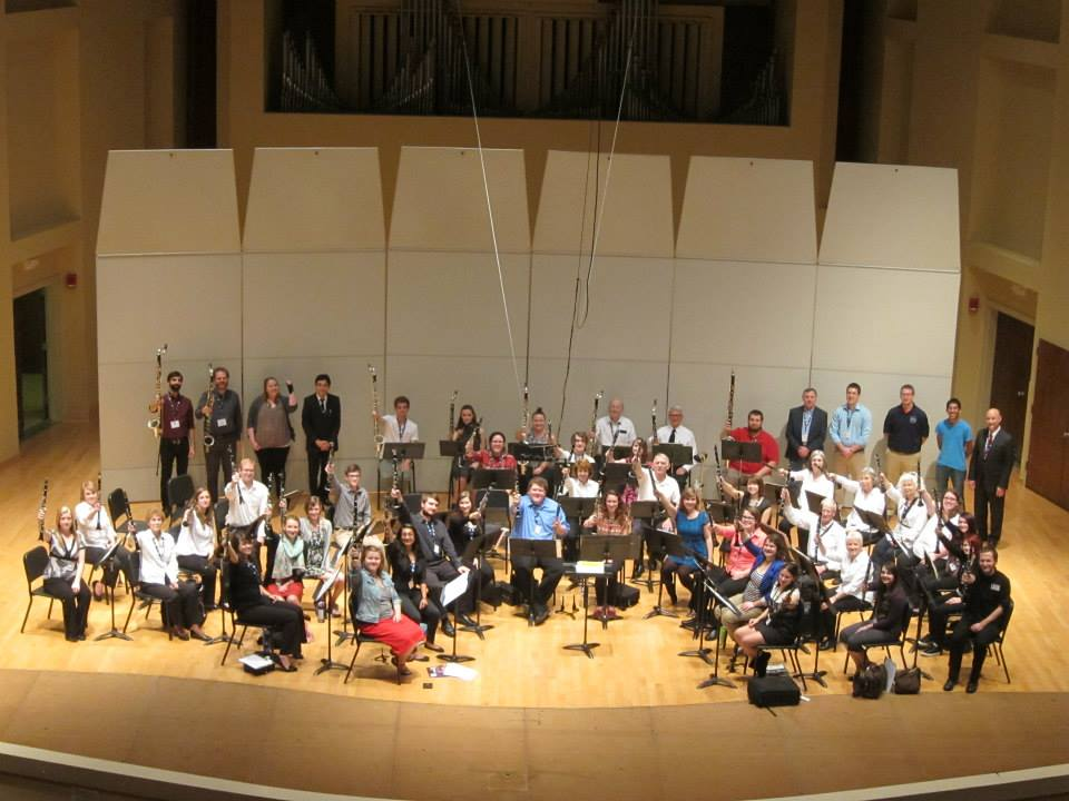 2015 TTU Clarinet Day Group Photo