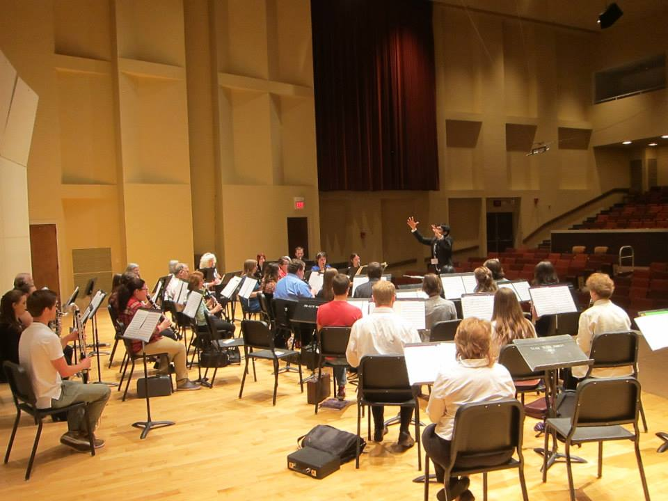 TTU Clarinet Day Ensemble Rehearsal