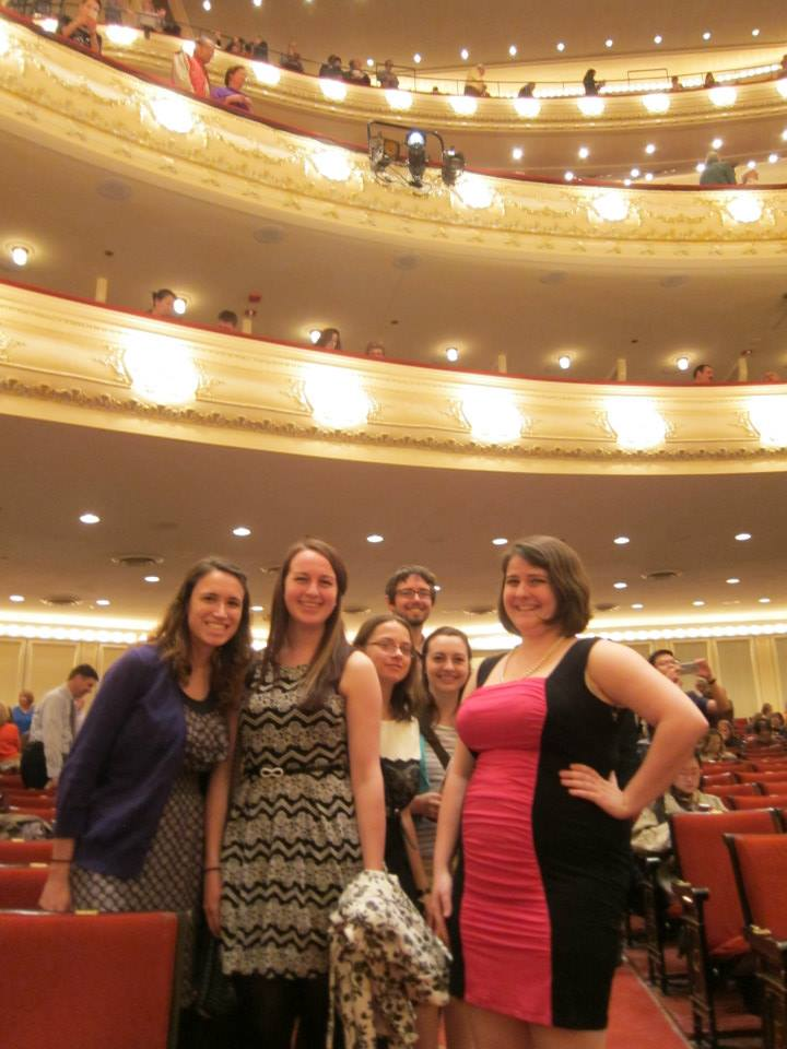 An evening with TTU clarinet students at Chicago Symphony Concert