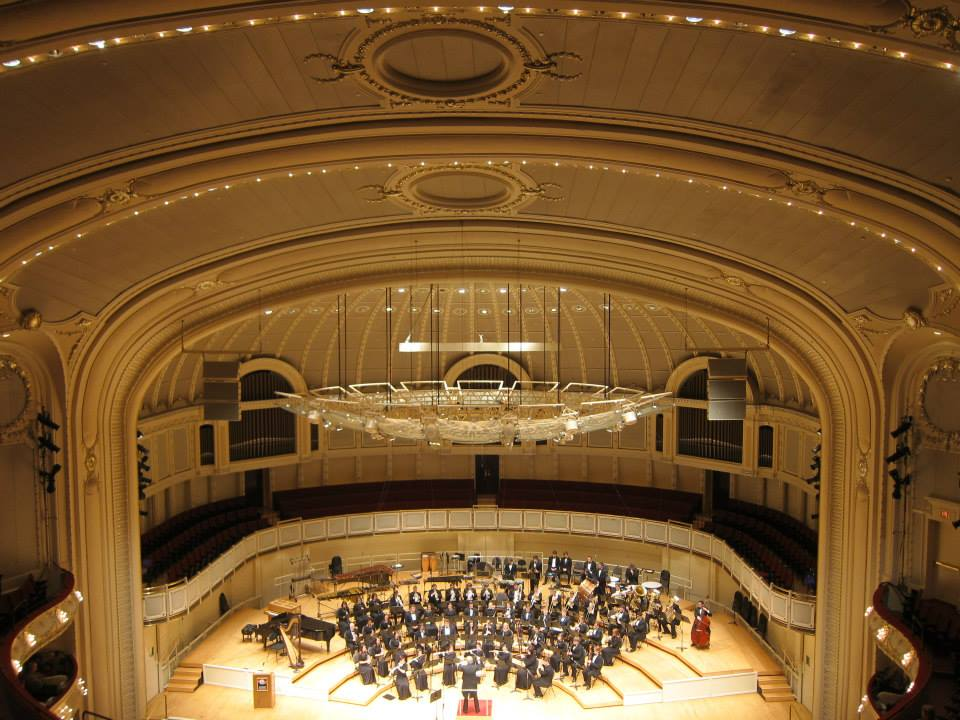 TTU Symphony Band at Chicago Symphony Center