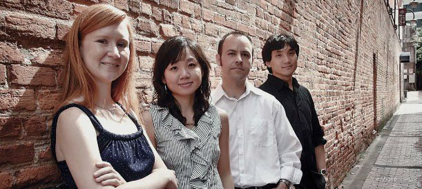 Wonkak Kim, Brent Williams, Katherine Geeseman, and Eun-Hee Park are the enhake musicians who will play at the Albany Museum of Art on Sunday (Jan. 13, 2013) at 4 p.m. as part of the Jane and Harry Willson Chamber Music Series.