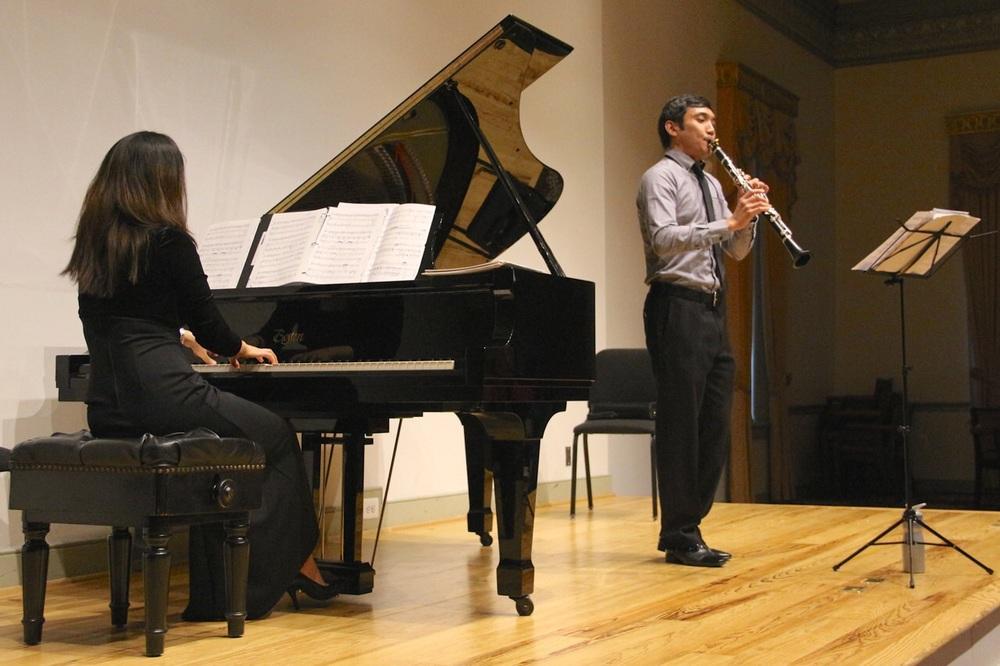 Choi-Kim Duo Recital at Alexandria's Lyceum, sponsored by the Washington Metropolitan Philharmonic Association