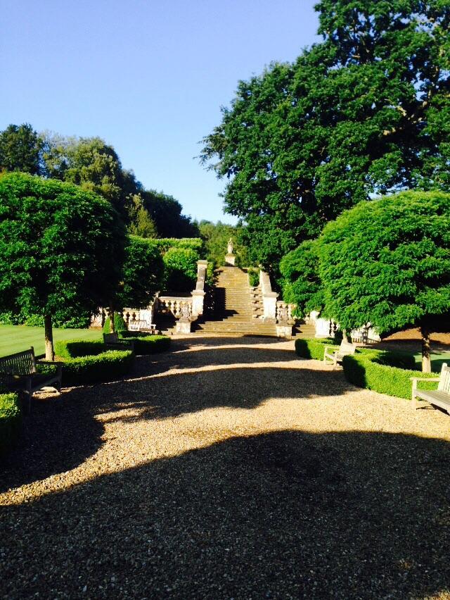 Harlaxton gardens