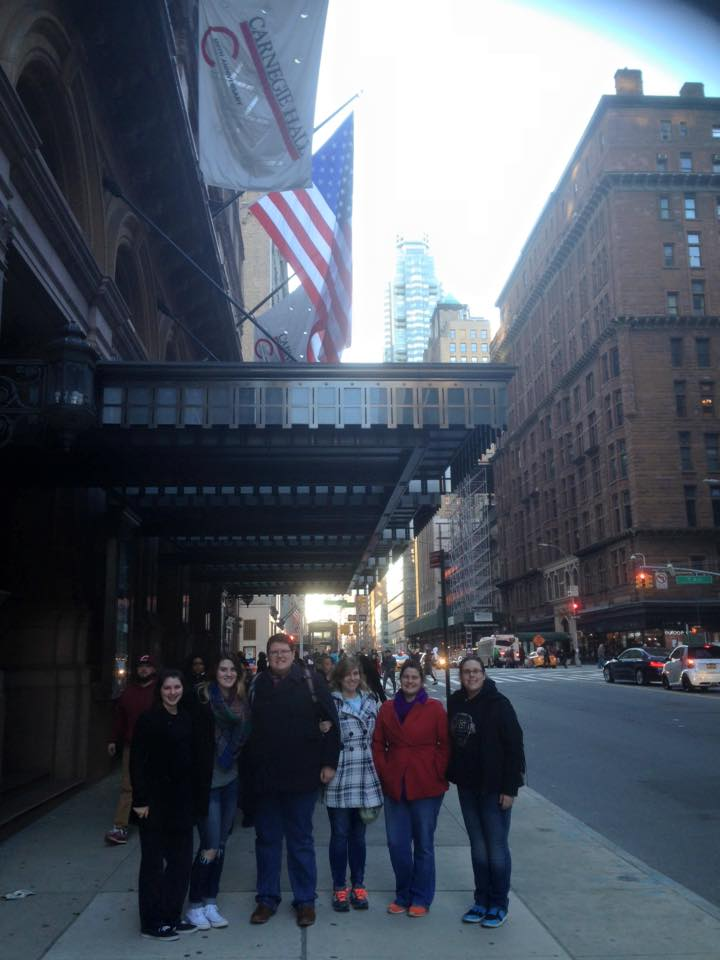 Students Visiting Carnegie Hall